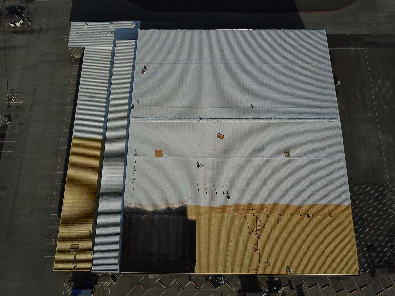Sante Fe Springs Metal Roof Warehouse - A&R Roofing Systems